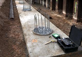 Der PIT-Collector ist das Messgerät zur Prüfung der Pfahlintegrität.
